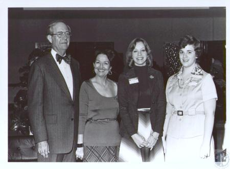Image: di24035 - Morehead State University President Adron Doran, Mrs. Doran and Carol Baker and Melanie Curray, both....